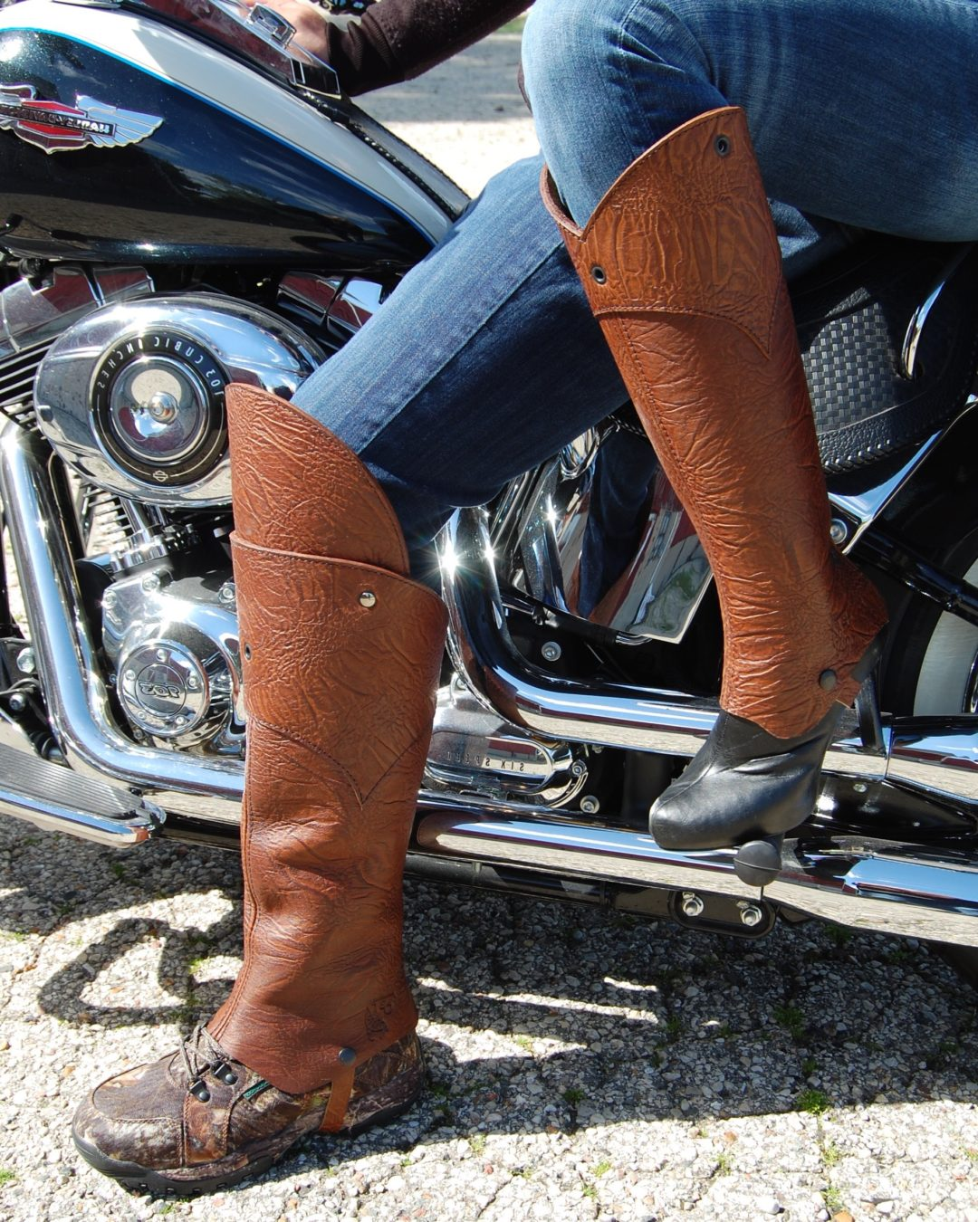 His and Hers Half Chaps