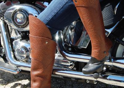 d3 Riffs half chaps with or without removable knee guards