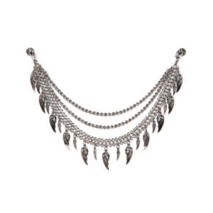 Silver Sly – Triple Chain - Half Chaps Jewelry