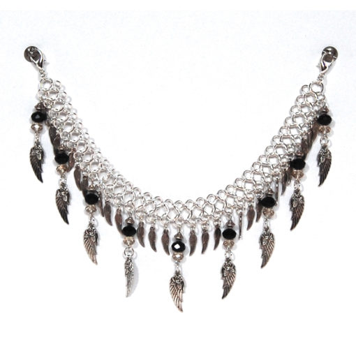 Chained Wings - Half Chap Jewelry
