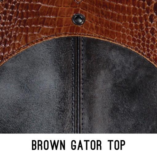 Brown Gator Top