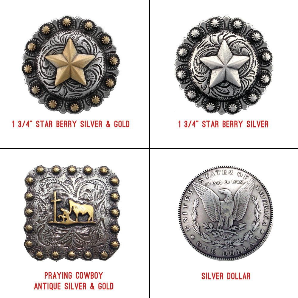 Cowboy - Half Chap Buttons