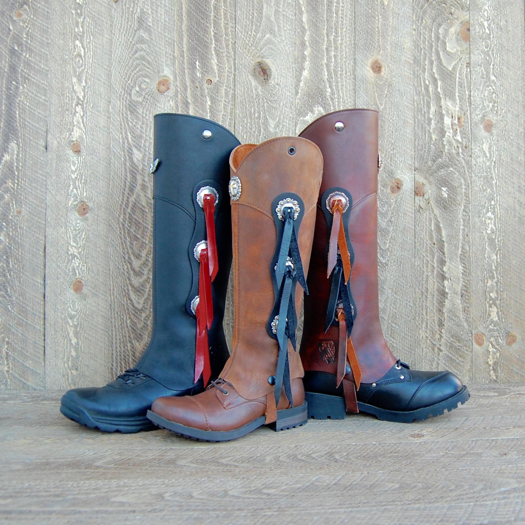 Western Half Chaps Cowboy Up Kit