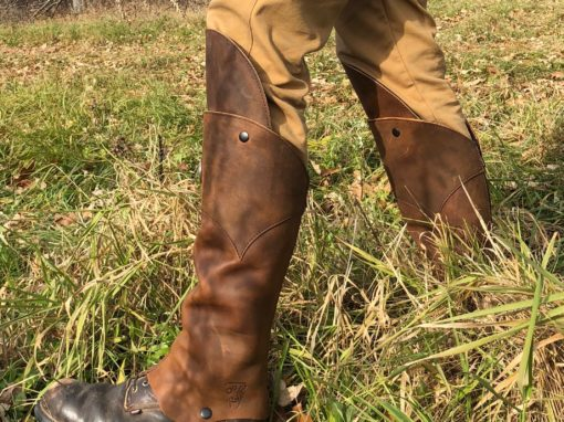 Any shoe can become a hunting boot